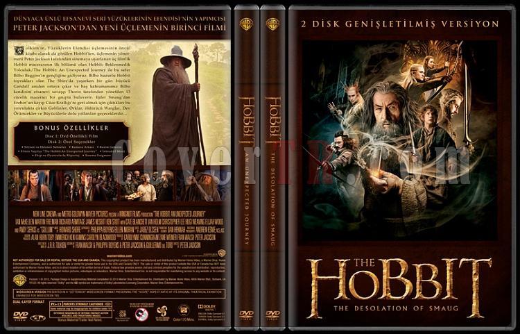 The Hobbit Collection - Custom Dvd Cover Set - Türkçe [2012-2013]-2jpg