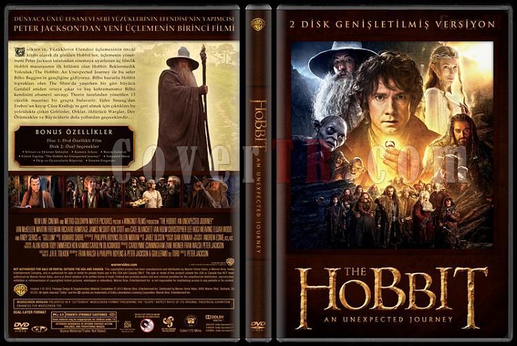 The Hobbit Collection - Custom Dvd Cover Set - Türkçe [2012-2013]-3jpg