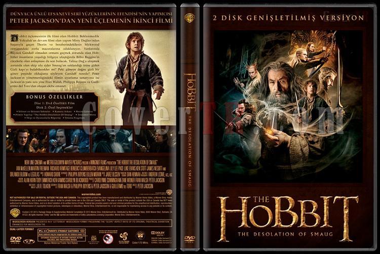 The Hobbit Collection - Custom Dvd Cover Set - Türkçe [2012-2013]-4jpg