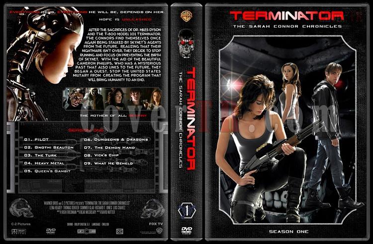 Terminator: The Sarah Connor Chronicles (Seasons 1-2) - Custom Dvd Cover Set - English [2008-2009]-1jpg