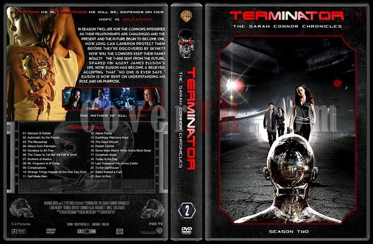 Terminator: The Sarah Connor Chronicles (Seasons 1-2) - Custom Dvd Cover Set - English [2008-2009]-2jpg