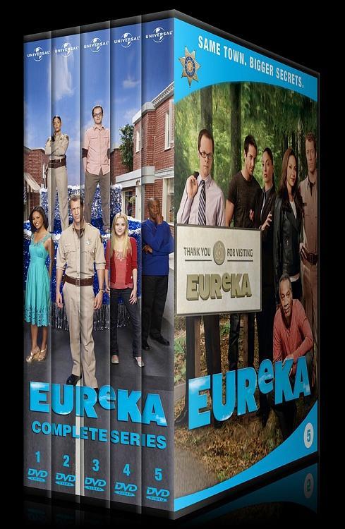 Eureka (Seasons 1-5) - Custom Dvd Cover Set - English [2006 - ?]-3djpg