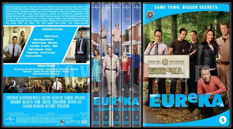 Eureka (Seasons 1-5) - Custom Dvd Cover Set - English [2006 - ?]-5-season-flatjpg