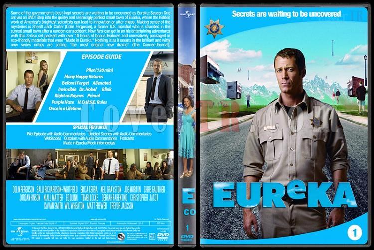Eureka (Seasons 1-5) - Custom Dvd Cover Set - English [2006 - ?]-1jpg