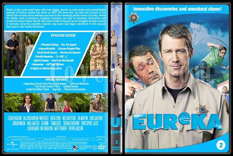 Eureka (Seasons 1-5) - Custom Dvd Cover Set - English [2006 - ?]-2jpg