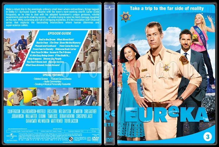 Eureka (Seasons 1-5) - Custom Dvd Cover Set - English [2006 - ?]-3jpg