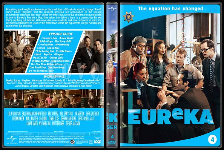 Eureka (Seasons 1-5) - Custom Dvd Cover Set - English [2006 - ?]-4jpg