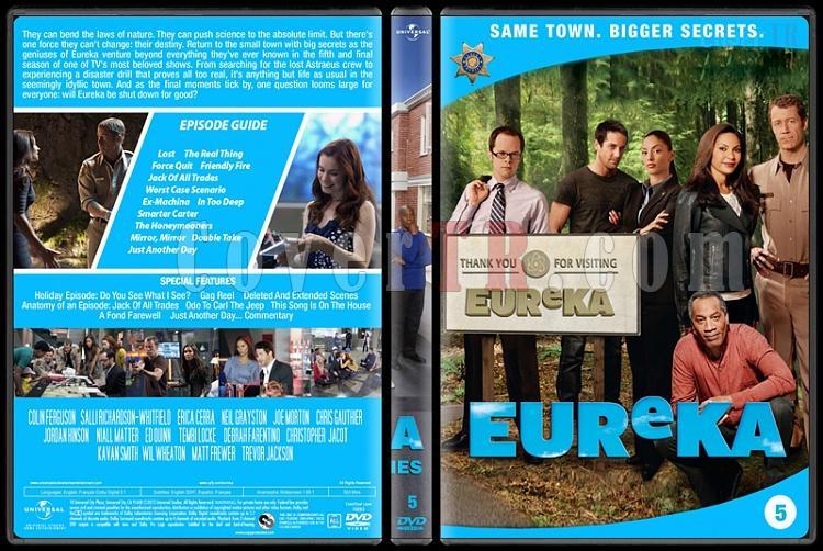 Eureka (Seasons 1-5) - Custom Dvd Cover Set - English [2006 - ?]-5jpg