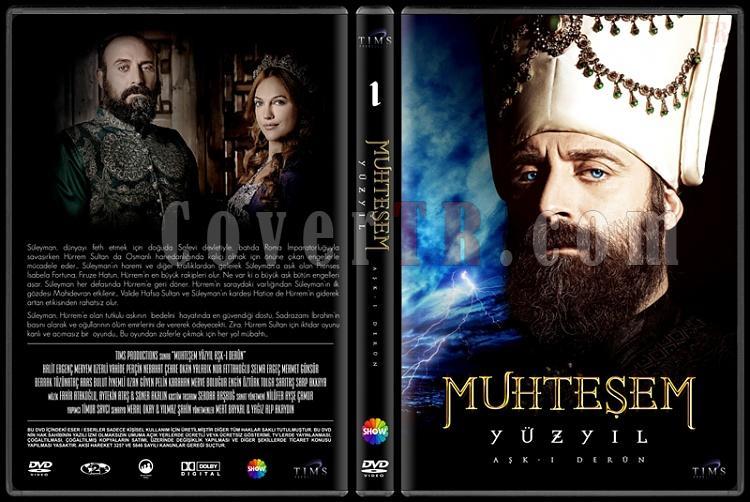 Muhteşem Yüzyıl (Seasons 1-4) - Custom Dvd Cover Set - Türkçe [2011-2014]-1jpg