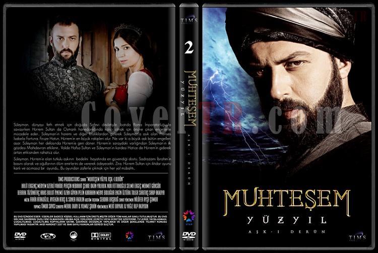 Muhteşem Yüzyıl (Seasons 1-4) - Custom Dvd Cover Set - Türkçe [2011-2014]-2jpg
