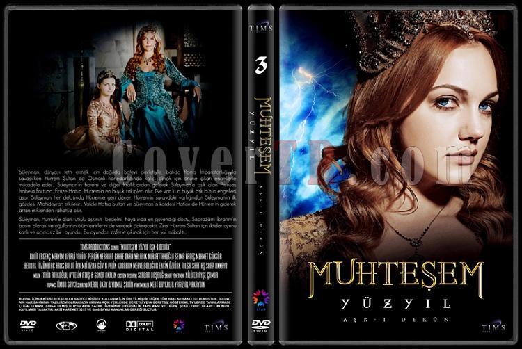 Muhteşem Yüzyıl (Seasons 1-4) - Custom Dvd Cover Set - Türkçe [2011-2014]-3jpg