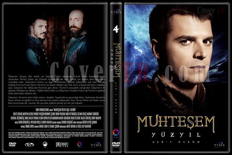 Muhteşem Yüzyıl (Seasons 1-4) - Custom Dvd Cover Set - Türkçe [2011-2014]-4jpg
