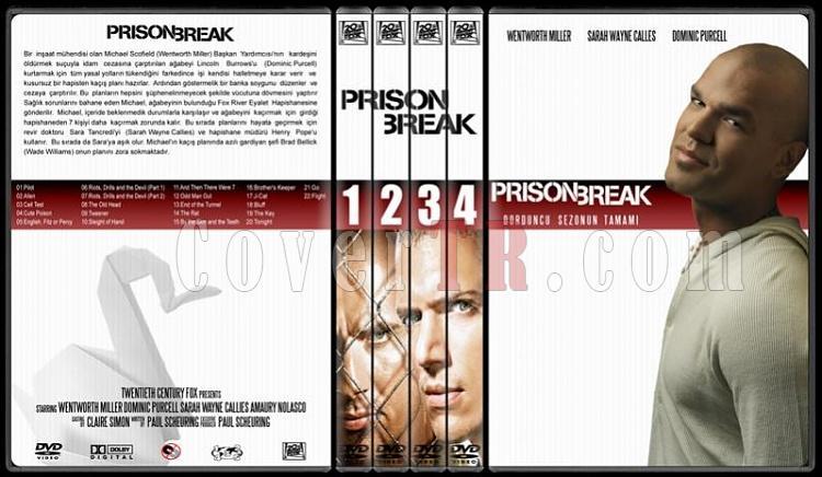 Prison Break (Seasons 1-4) - Custom Dvd Cover Set - Türkçe [2005-2009]-1all-0jpg