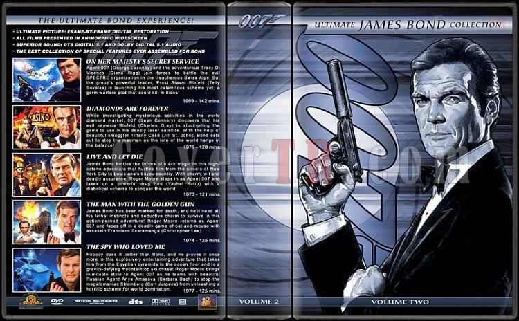 The Ultimate James Bond Ultimate Collection - Custom Dvd Cover Set - English [1962-2012]-2jpg