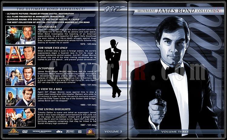 The Ultimate James Bond Ultimate Collection - Custom Dvd Cover Set - English [1962-2012]-3jpg