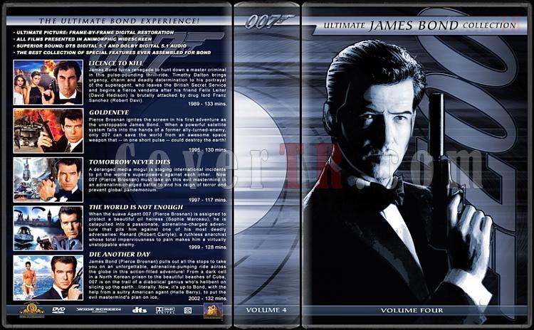 The Ultimate James Bond Ultimate Collection - Custom Dvd Cover Set - English [1962-2012]-4jpg