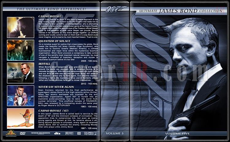 The Ultimate James Bond Ultimate Collection - Custom Dvd Cover Set - English [1962-2012]-5jpg
