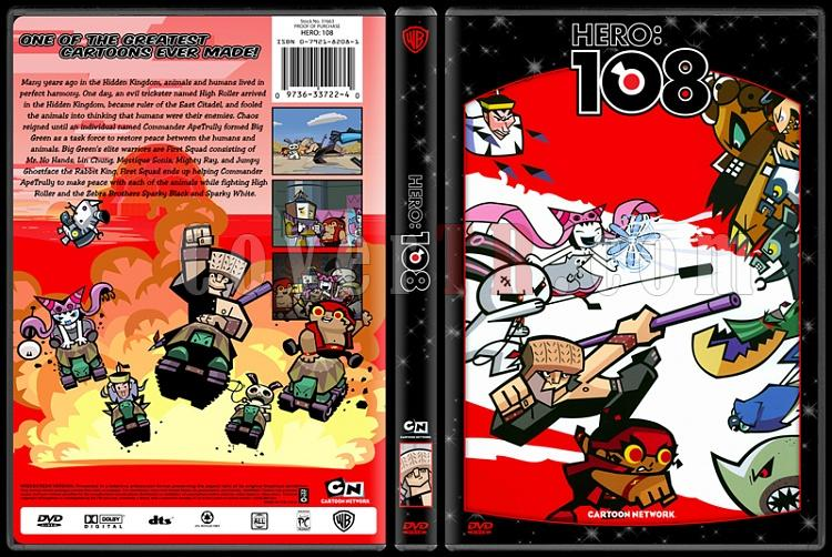 TV Cartoon Collection - Custom Dvd Cover Set - English-hero-108jpg