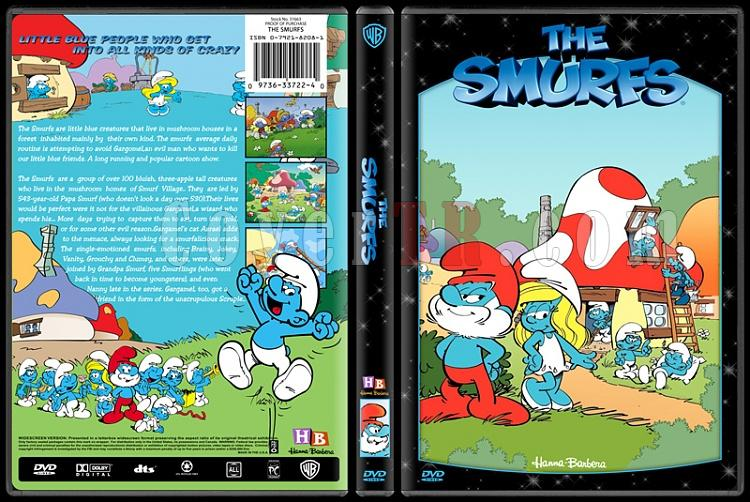 TV Cartoon Collection - Custom Dvd Cover Set - English-smurfsjpg
