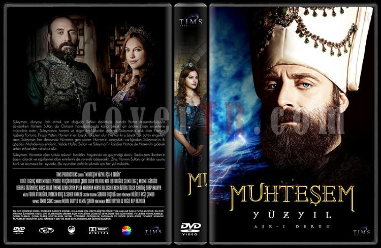 Muhteşem Yüzyıl (Seasons 1-4) - Custom Dvd Cover Set - Türkçe [2011-2014]-11jpg