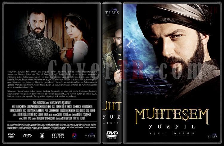 Muhteşem Yüzyıl (Seasons 1-4) - Custom Dvd Cover Set - Türkçe [2011-2014]-22jpg