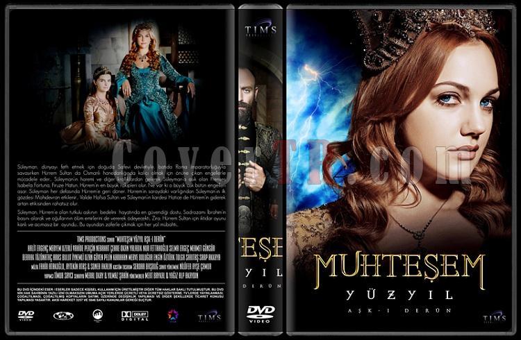 Muhteşem Yüzyıl (Seasons 1-4) - Custom Dvd Cover Set - Türkçe [2011-2014]-33jpg