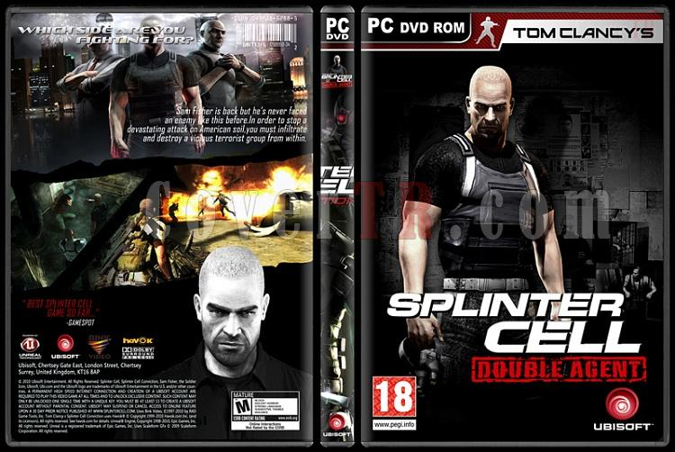 Tom Clancy's Splinter Cell Collection - Custom PC Cover Set - English-2jpg