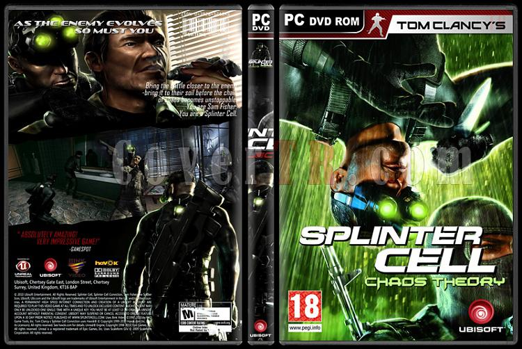 Tom Clancy's Splinter Cell Collection - Custom PC Cover Set - English-3jpg