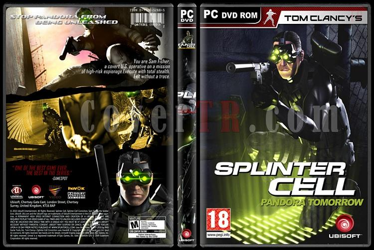 Tom Clancy's Splinter Cell Collection - Custom PC Cover Set - English-4jpg