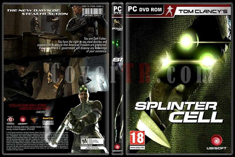 Tom Clancy's Splinter Cell Collection - Custom PC Cover Set - English-5jpg