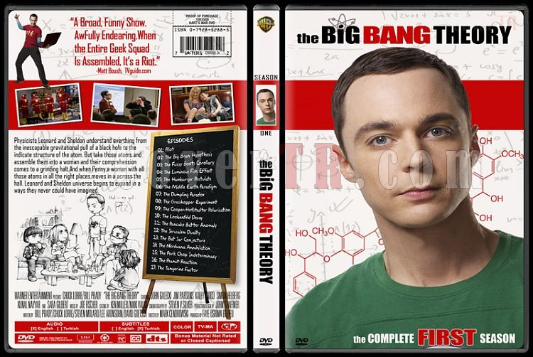 The Big Bang Theory (Seasons 1-4) - Custom Dvd Cover Set - English [2007-?]-1jpg