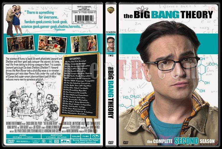 The Big Bang Theory (Seasons 1-4) - Custom Dvd Cover Set - English [2007-?]-2jpg