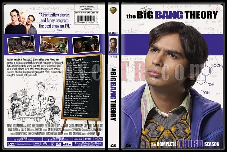 The Big Bang Theory (Seasons 1-4) - Custom Dvd Cover Set - English [2007-?]-3jpg