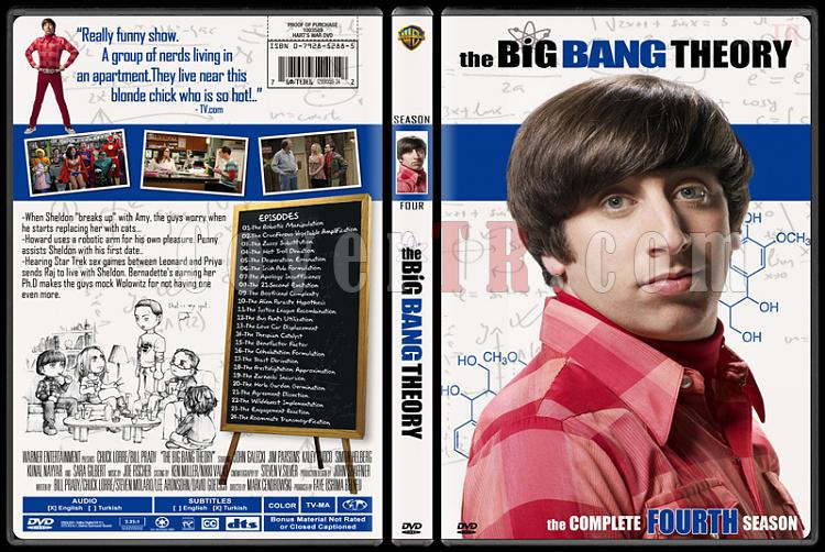 The Big Bang Theory (Seasons 1-4) - Custom Dvd Cover Set - English [2007-?]-4jpg