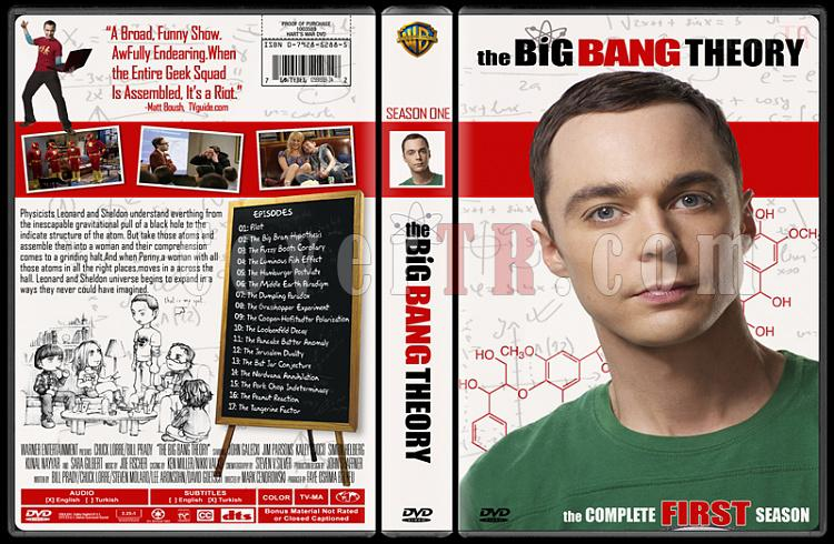 The Big Bang Theory (Seasons 1-4) - Custom Dvd Cover Set - English [2007-?]-11jpg