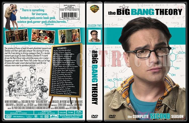 The Big Bang Theory (Seasons 1-4) - Custom Dvd Cover Set - English [2007-?]-22jpg