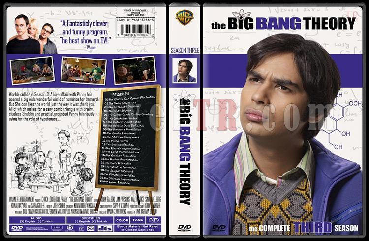 The Big Bang Theory (Seasons 1-4) - Custom Dvd Cover Set - English [2007-?]-33jpg