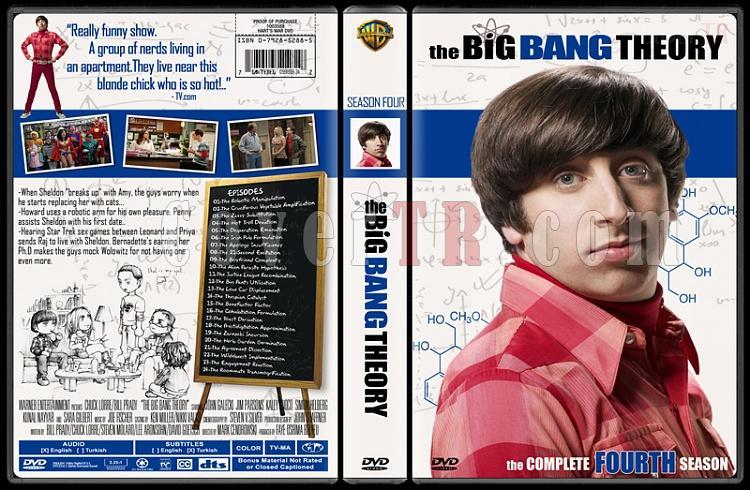 The Big Bang Theory (Seasons 1-4) - Custom Dvd Cover Set - English [2007-?]-44jpg