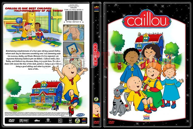 TV Cartoon Collection - Custom Dvd Cover Set - English-cailloujpg