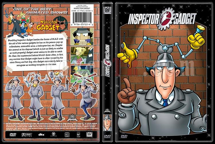 TV Cartoon Collection - Custom Dvd Cover Set - English-inspector-gadgetjpg