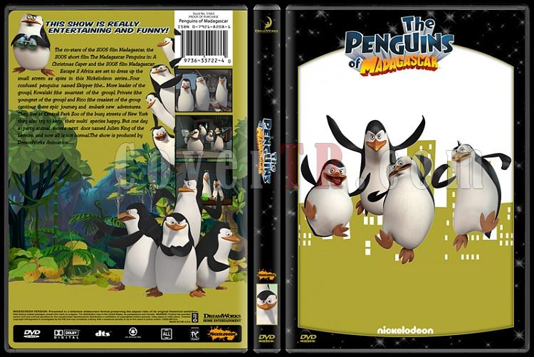 TV Cartoon Collection - Custom Dvd Cover Set - English-penguins-madagascarjpg
