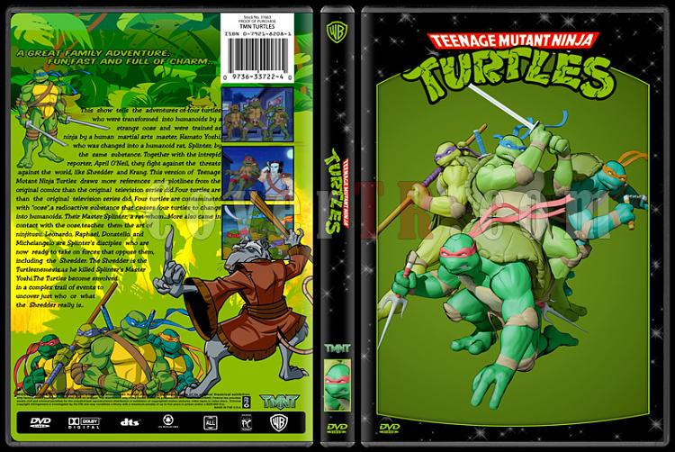 TV Cartoon Collection - Custom Dvd Cover Set - English-tmntjpg