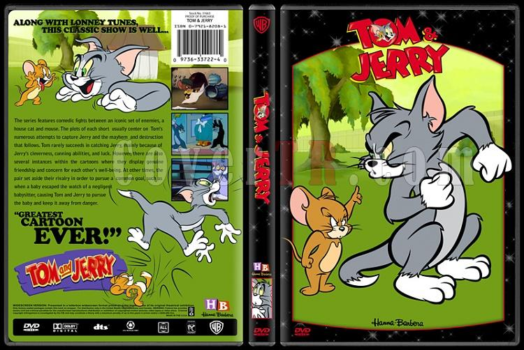 TV Cartoon Collection - Custom Dvd Cover Set - English-tom-jerryjpg