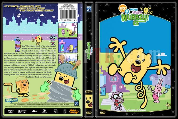 TV Cartoon Collection - Custom Dvd Cover Set - English-wow-wow-wubzyjpg