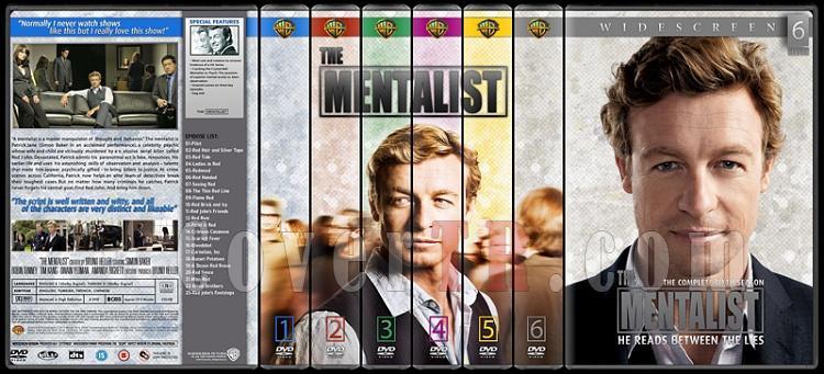 The Mentalist (Seasons 1-6) - Custom Dvd Cover Set - English [2008-2015]-6-season-flatjpg
