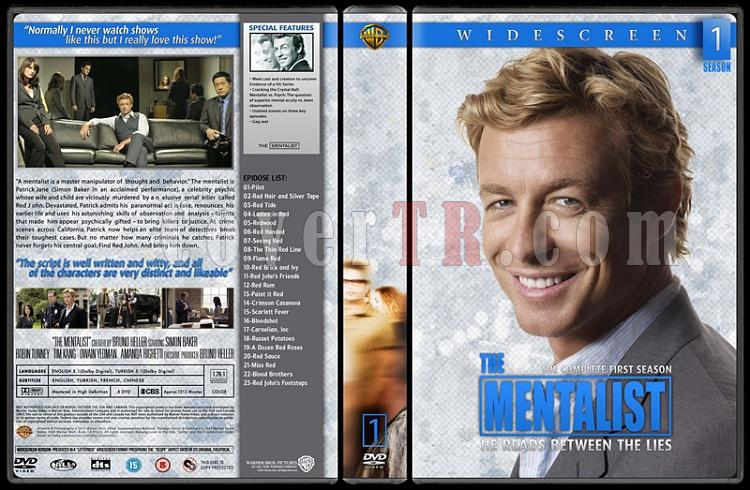 The Mentalist (Seasons 1-6) - Custom Dvd Cover Set - English [2008-2015]-01jpg