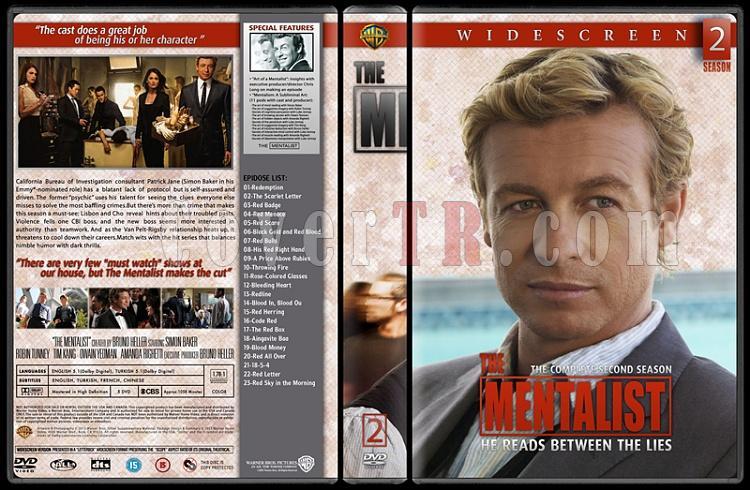The Mentalist (Seasons 1-6) - Custom Dvd Cover Set - English [2008-2015]-02jpg