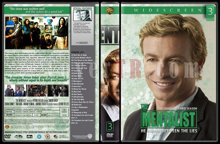 The Mentalist (Seasons 1-6) - Custom Dvd Cover Set - English [2008-2015]-03jpg