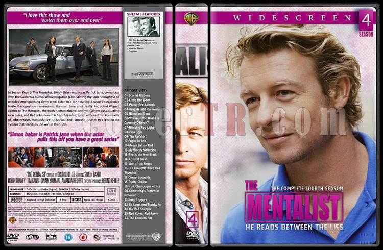 The Mentalist (Seasons 1-6) - Custom Dvd Cover Set - English [2008-2015]-04jpg