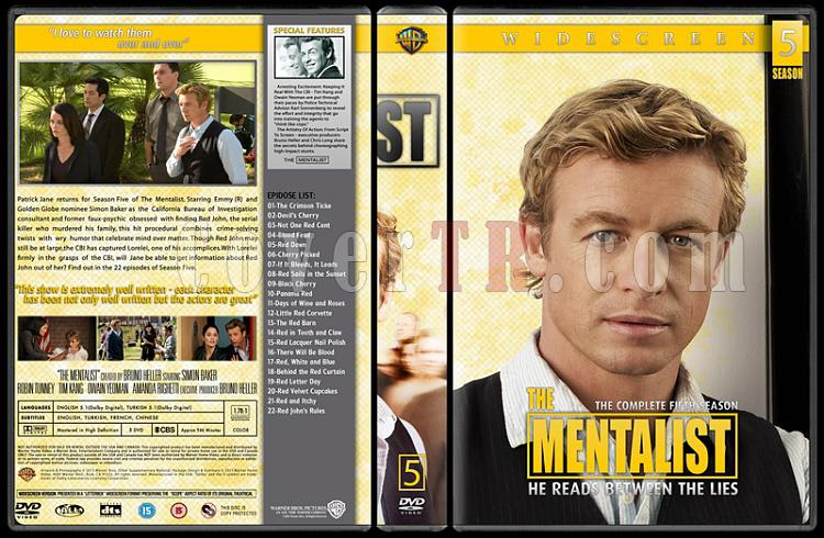 The Mentalist (Seasons 1-6) - Custom Dvd Cover Set - English [2008-2015]-05jpg